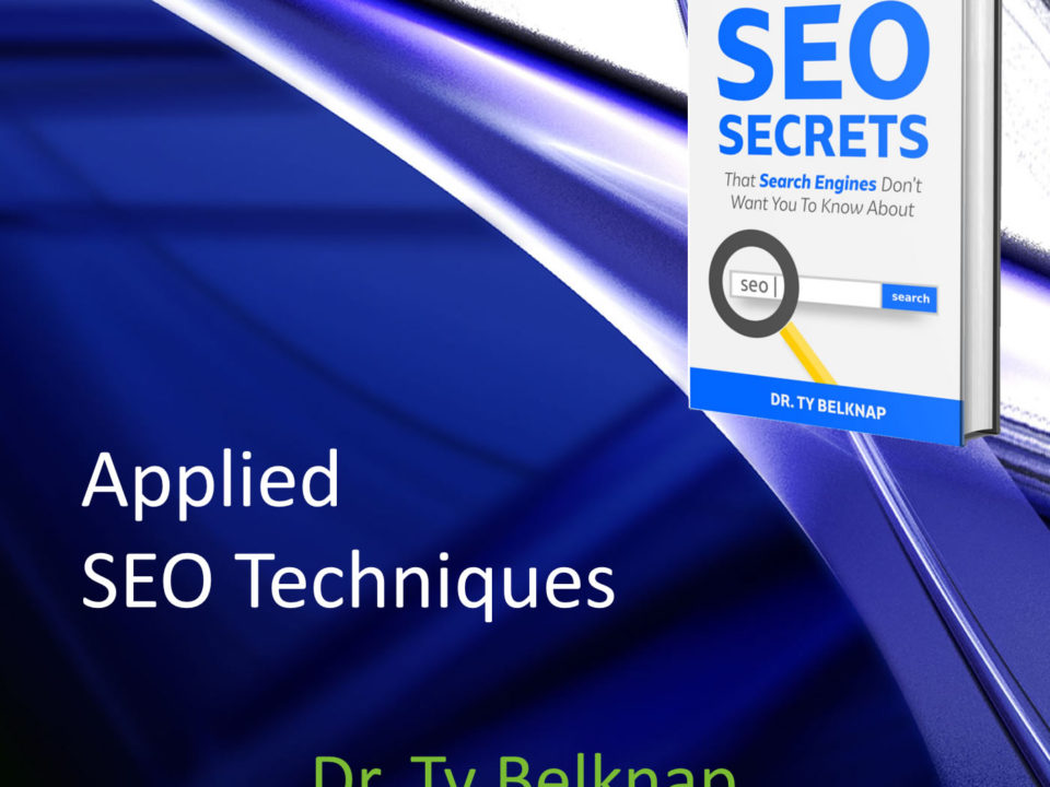 Get higher in the search engines. SEO techniques