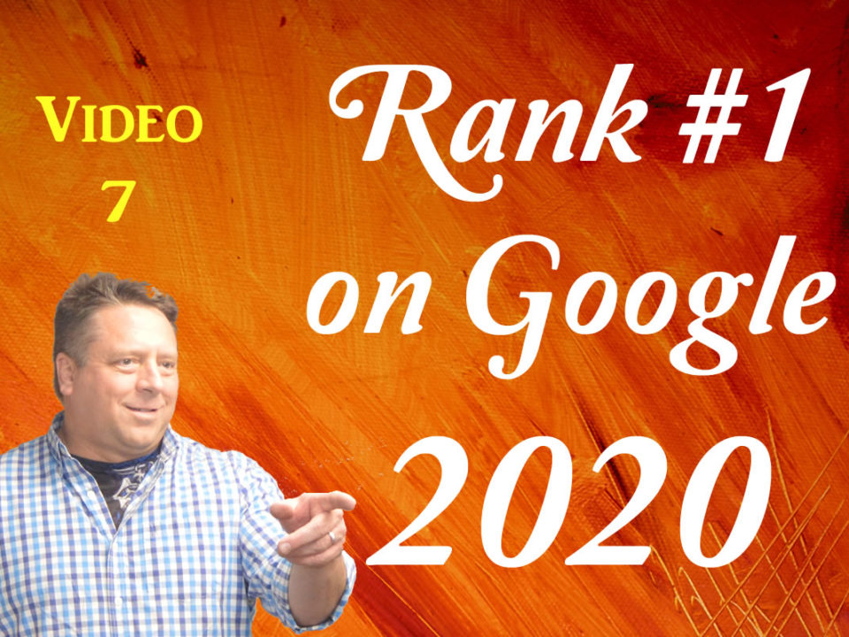 SEO Google 2020 video 7
