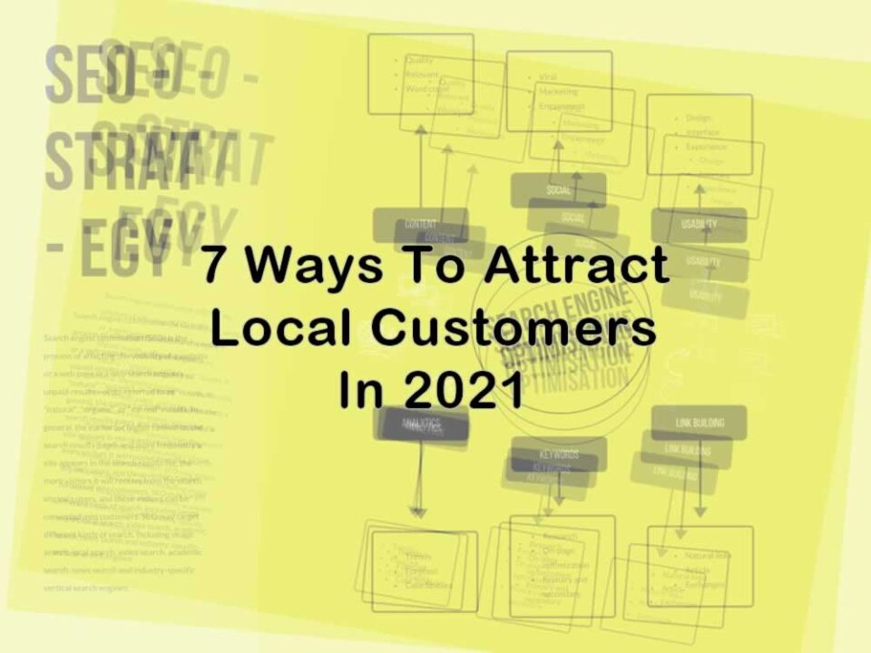 Attract local customers in 2021
