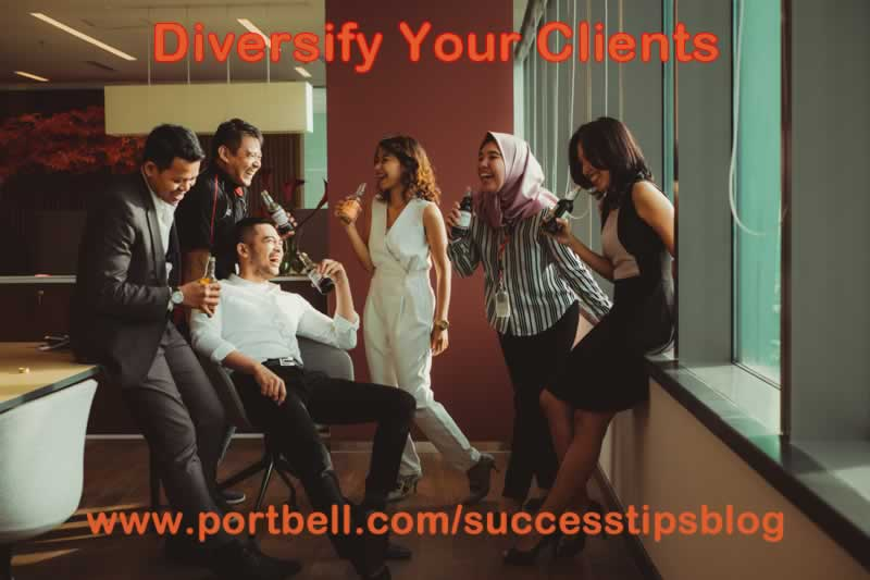 Diversify your clients for more profit